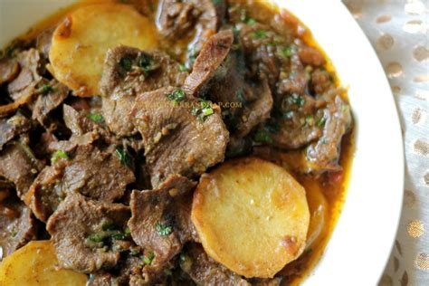 Ruchik Randhap (Delicious Cooking): Tongue Curry - When